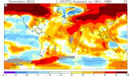 Anomalie di temperatura GISS (NASA)
