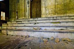 Danni al centro storico di di Mormanno (Cosenza)
