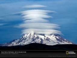 Altro esempio di nube lenticolare sulla stato di Washington (USA)