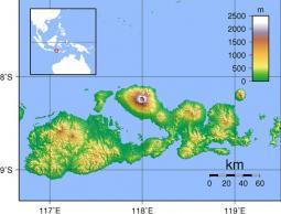 L'Isola di Sumbawa con il Tambora