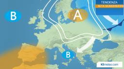 Meteo. Anticiclone sulla Scandinavia, possibili ripercussioni