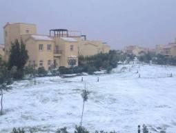 Neve eccezionale a Il Cairo! (english.ahram.org.eg )