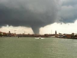 Tromba d'aria a Venezia