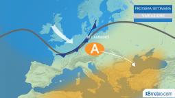 Meteo. Cambiamenti in vista in Europa la prossima settimana