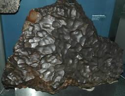Esempio di meteoriti caduto sulla Terra