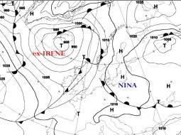 Uragani ed ex-Uragani che sono arrivati sino in Europa