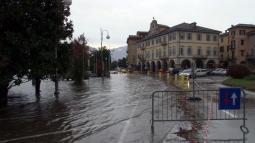 Esondazione del Lago Maggiore a Pallanza