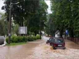 Situazione critica per le piogge in Serbia