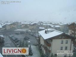 Nevica a Livigno