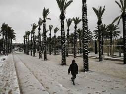 Gelo e neve in Argentina, foto di repertorio