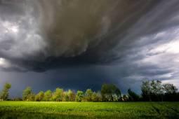 Forti temporali sull'Europa centro occidentale