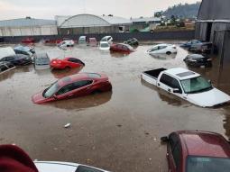 MONDO - In MESSICO piogge torrenziali e ingenti danni. Le auto fluttuano come barche. VIDEO