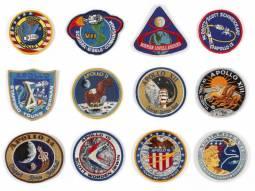 Gli stemmi utilizzati nelle missioni Apollo