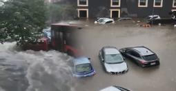 Grave alluvione a Catania