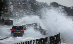 EUROPA. La tempesta Hendrik / Aurore si sposta in Scandinavia