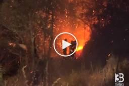 INCENDI DEVASTANTI in Piemonte: situazione critica in Val Susa ( VIDEO )