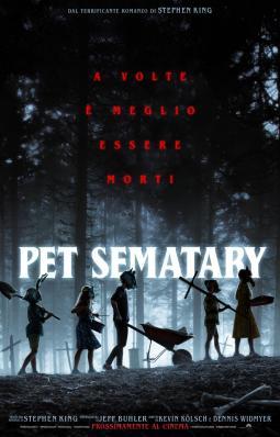 La locandina del film: PET SEMATARY