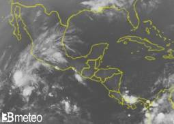 RECORD nel Pacifico, nasce Andres, la prima tempesta tropicale. Mai così presto a maggio