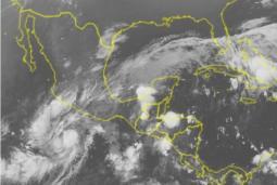 La tempesta tropicale Rick, prossima a diventare uragano