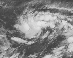La tempesta tropicale Surigae vista dal satellite