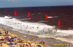 RIP CURRENTS: uno dei pericoli dell Estate al mare! Ecco di cosa si tratta