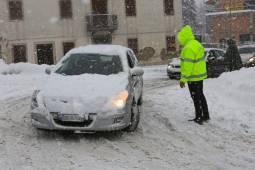 CRONACA: neve in pianura su Emilia Romagna, temporali in Sicilia, bora a 130km/h su Trieste