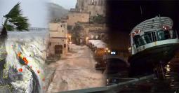 CRONACA - CICLONE con severo maltempo, venti tempestosi, esondazioni, ACQUA ALTA eccezionale a Venezia e VITTIME