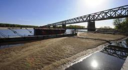 CLIMA: TROPPO SECCO, il fiume Po è in secca come a FERRAGOSTO, a rischio anche il Lago di Como