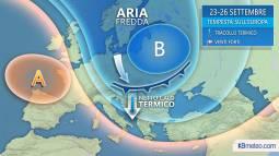 EUROPA: nuova TEMPESTA EQUINOZIALE da domenica, tracollo termico e NEVE anche a bassa quota