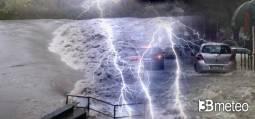 AVVISO meteo: DOMENICA NUBIFRAGI e VIOLENTI TEMPORALI su alcune regioni, tutti i dettagli