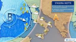 Meteo Italia: la situazione attesa nelle prossime ore