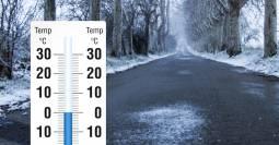 FOCUS TEMPERATURE. Clima più FREDDO e valori in calo da Nord a Sud