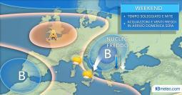 Meteo weekend: la situazione prevista in Italia