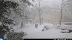 LIVE: neve sino a bassa quota, temporali e venti oltre i 90 km/h