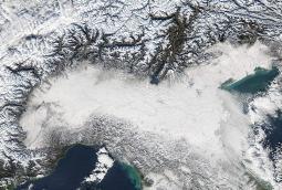 18-22 Dicembre 2009 - Nord e Toscana sotto GELO E NEVE