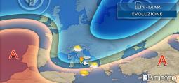 Meteo. Bassa pressione nella prima parte della settimana, ancora MALTEMPO anche FORTE su parte d Italia. Ecco dove e quando