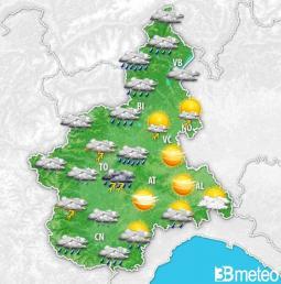 Occasione per nuovi temporali anche venerdì pomeriggio