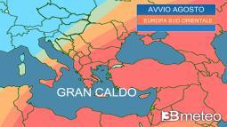 ONDATA DI CALORE nel Sud est Europa, devastanti incendi in Grecia e Turchia