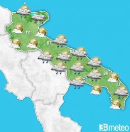 Peggioramento in arrivo sulla Puglia da mercoledì sera
