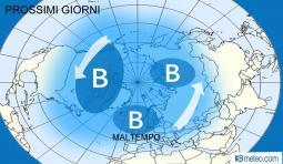 ALLERTA MALTEMPO EUROPA: settimana con pioggia, neve e forte vento