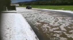 EUROPA. Austria bersagliata da forti temporali e intense grandinate