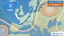 TENDENZA: vediamo le proiezioni meteo fino ai primi giorni di Ottobre