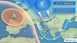 TENDENZA PROSSIMA SETTIMANA: Irruzione artica su mezza Europa