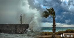 AVVISO METEO: VENTI di BURRASCA e MAREGGIATE per il MEDICANE (uragano mediterraneo). Previsione Mari prossimi giorni
