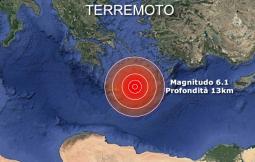 Violenta SCOSSA a Creta di Magnitudo 6.1. Ci sono molti danni. Le prime IMMAGINI
