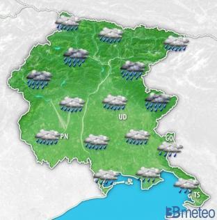 Meteo Friuli-Venezia Giulia: atteso forte maltempo nei prossimi giorni