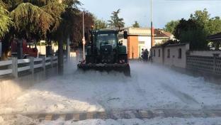 CRONACA METEO: Violente grandinate lunedì sera in Piemonte, nell Alessandrino