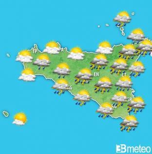 METEO SICILIA - Sabato con qualche pioggia, domenica di Carnevale instabile!