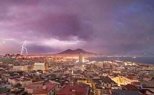 Meteo Campania: MALTEMPO con temporali anche forti in arrivo, previsioni prossime ore