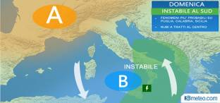 CARNEVALE: piogge al Sud, meglio altrove
